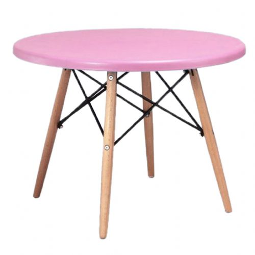Child's Eiffel Round Table, Pink  60cm
